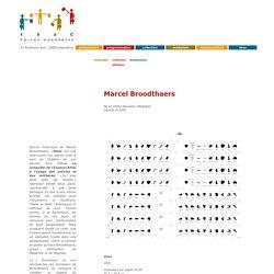 Marcel Broodthaers, collection FRAC Poitou-Charentes
