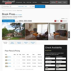 Brook Pines Apartments - Columbia, SC 29210