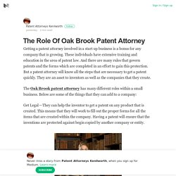 Oak Brook Patent Attorney