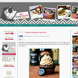 See Brooke Cook: Irish Carbomb Cupcakes