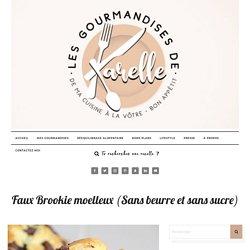 Faux Brookie moelleux (Sans beurre et sans sucre)