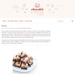 Brookies de Guillemette - recette Chocolat & caetera