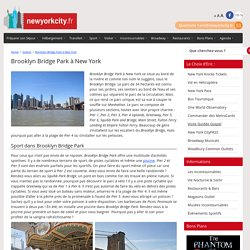 Brooklyn Bridge Park à New York