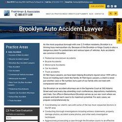 Brooklyn Auto Accident Lawyer - Frekhtman & Associates