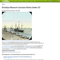 Brooklyn Museum Licenses Works Under CC