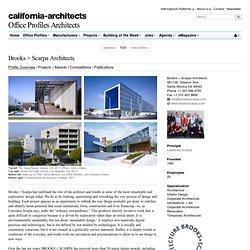 Brooks + Scarpa Architects - Santa Monica - Architects