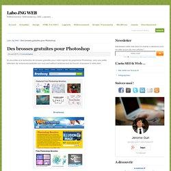 Des brosses gratuites pour Photoshop - Labo JNG WEB