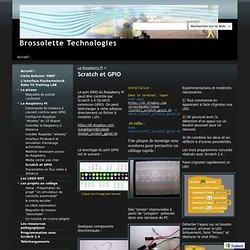 Scratch et GPIO - Brossolette Technologies