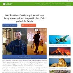 Nut Brother, l'artiste qui a créé une brique en aspirant les particules d'air pollué de Pékin