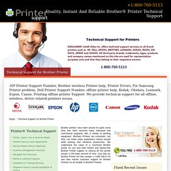 800-760-5113-Brother Printer Help