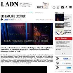 Big data, big Brother - BUSINESS REVOLUTION