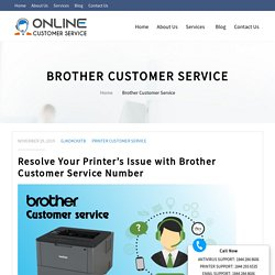 Brother Customer Service Phone Number