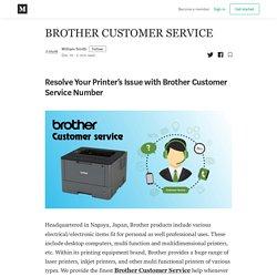 Brother Customer Service