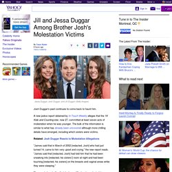 Jill and Jessa Duggar Among Brother Josh's Molestation Victims