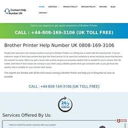 Brother Printer Phone UK