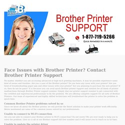 Brother Support - Call 1-877-719-5266 for Brother Printer support