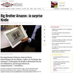 Big Brother Amazon : la surprise Kindle