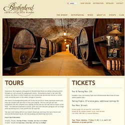 Brotherhood Winery | America's Oldest Winery Est. 1839 | Brotherhood Winery Tours