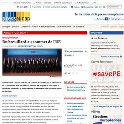 Du brouillard au sommet de l'UE | Presseurop – français
