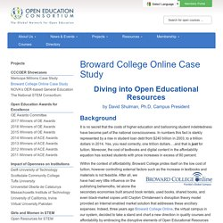 Broward College Online Case Study