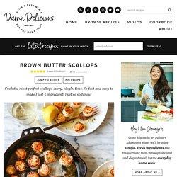 Brown Butter Scallops