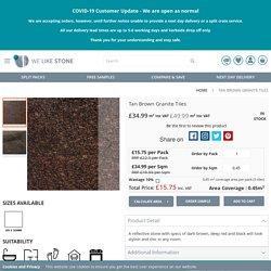Tan Brown Granite Tiles - We Like Stone