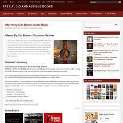 Dan Brown Inferno Download Free Audio book