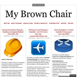 My Brown Chair