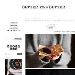 BROWNIE A LA CARDAMOME ET AUX NOIX + DU RÉCONFORT (vegan, sans gluten)