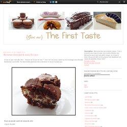 Brownie chocolat & noix de coco - The First Taste