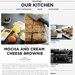 Mocha and cream cheese brownie & Cooking Blog - Find the best recipes, cooking and food tips at Our Kitchen. - StumbleUpon