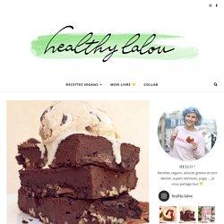 Brownie vegan aux haricots rouges – Healthy Lalou