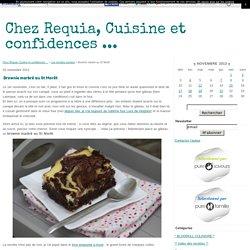 Brownie marbré au St Morêt