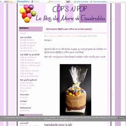 Kit brownie M&M's pour offrir ou se faire plaisir! - Cop's N pop