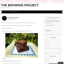 The Brownie Project - StumbleUpon