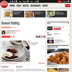 Brownie Pudding Recipe