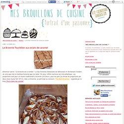 Le Brownie Tourbillon aux éclats de caramel