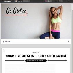Brownie vegan, sans gluten & sucre raffiné