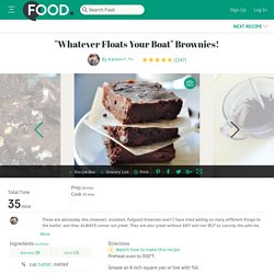 Brownie Recipe - Whatever Floats Your Boat Brownies!