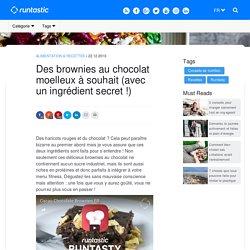 Des brownies au chocolat moelleux à souhait (avec un ingrédient secret !)