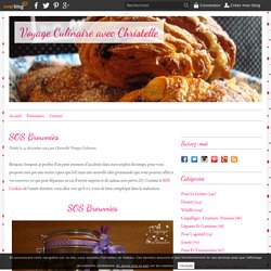 SOS Brownies - Voyage Culinaire avec Christelle