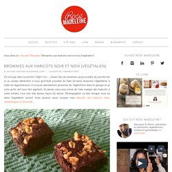 Brownies aux haricots noir et noix (végétalien)
