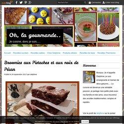 Brownies aux Pistaches et aux noix de Pécan