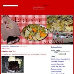 brownies sans PLV - La cuisine de Nad !