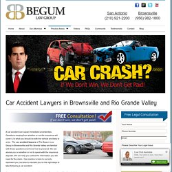 Brownsville Accident Lawyers