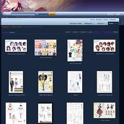 Browse Character Sheet Scans - Minitokyo