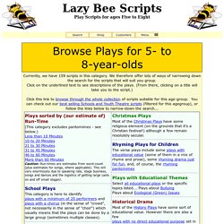Browse Scripts for Ages 5 to 8
