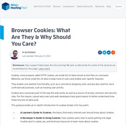 Browser Cookies: The Definitive Guide For Developers & Users
