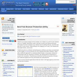 Best Free Browser Protection Utility.