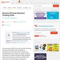 Review Of Cross-Browser Testing Tools